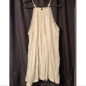 Cream American Eagle A-Line dress